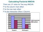calculating factorial anova4