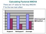 calculating factorial anova8