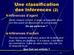 une classification des inf rences 2