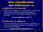 une classification des inf rences 3