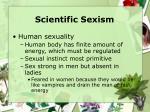 scientific sexism26