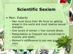 scientific sexism31