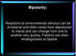 bipolarity