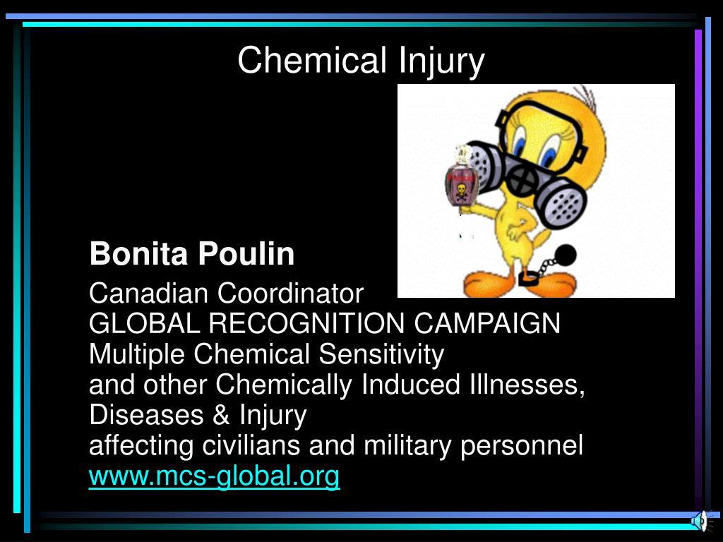 chemical injury l.