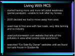 living with mcs14
