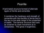 pearlite