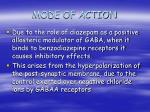 mode of action11