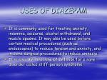 uses of diazepam