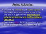 amino acidurias21