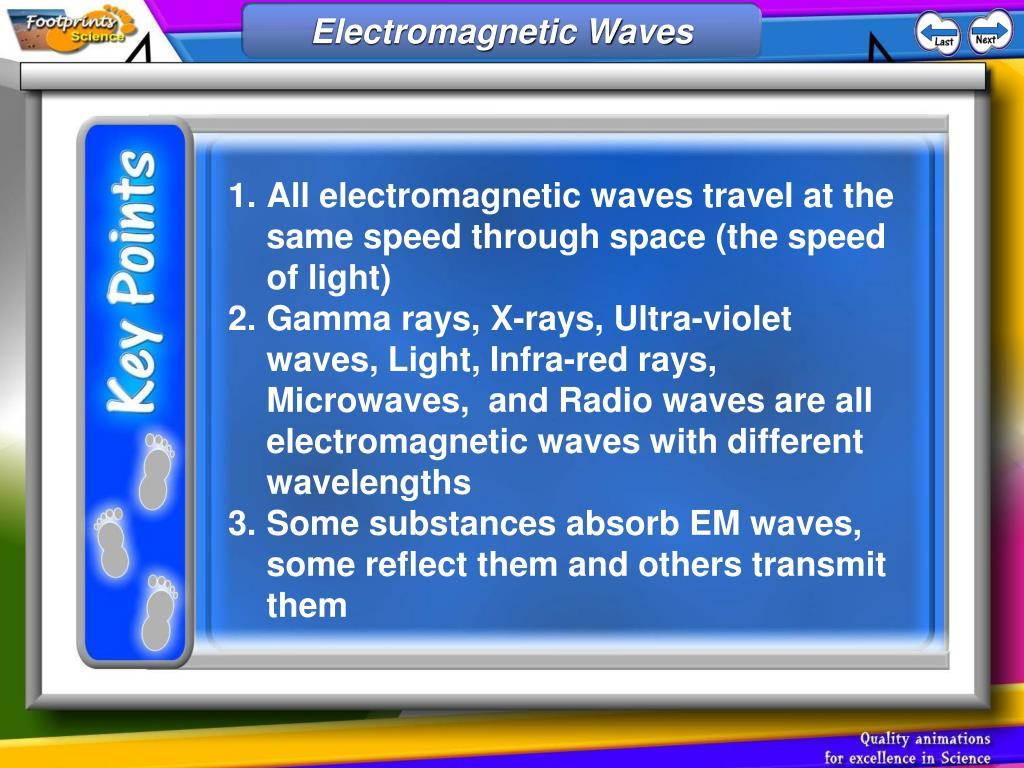 electromagnetic waves l.