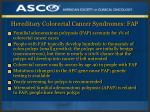 hereditary colorectal cancer syndromes fap