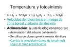 temperatura y fotos ntesis