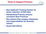 tools to support process
