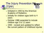 the injury prevention program tipp