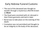 early hebrew funeral customs18