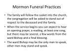 mormon funeral practices94