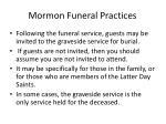mormon funeral practices95