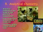 5 analytical chemistry