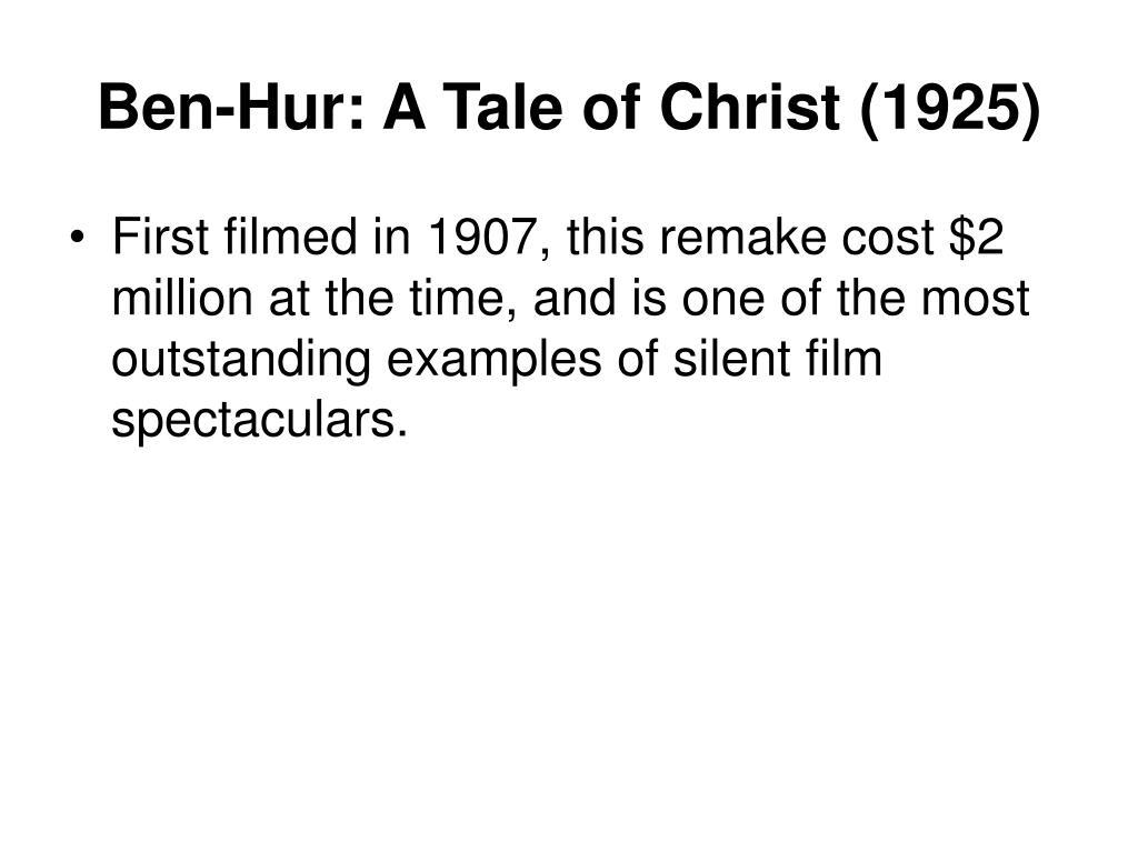Ben-Hur: A Tale of Christ (1925)