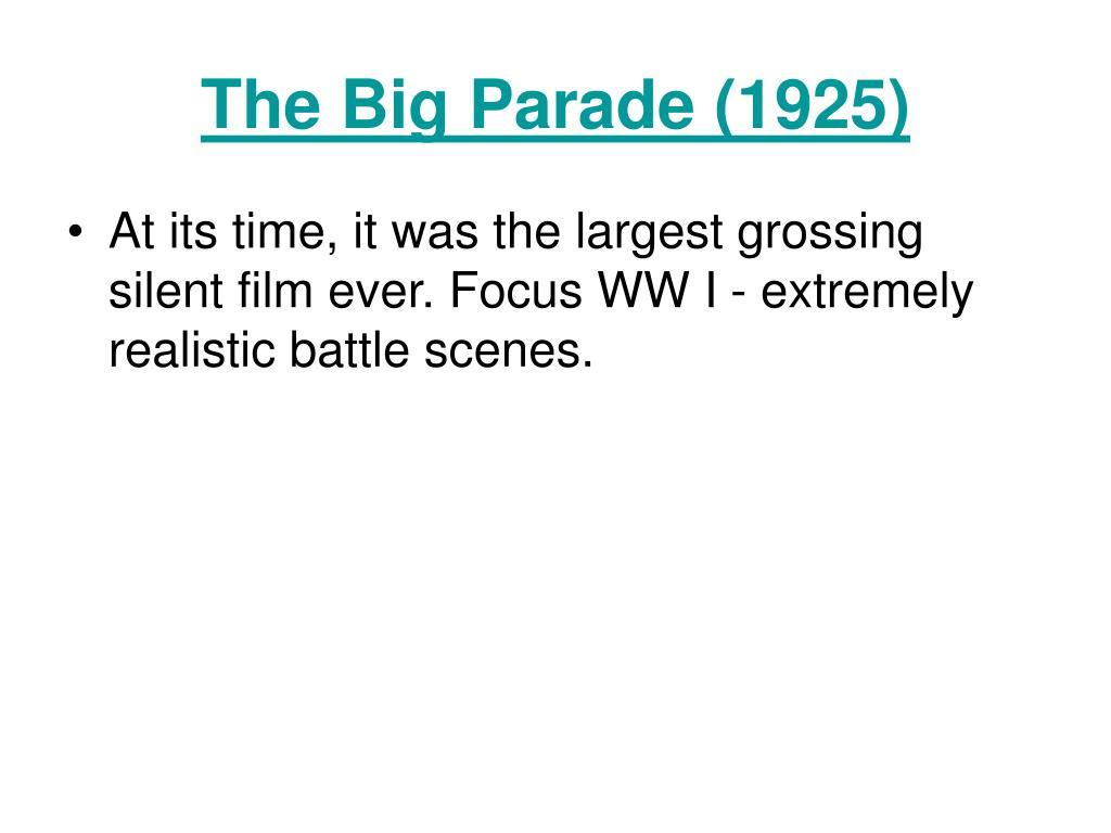 The Big Parade (1925)