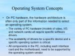 operating system concepts12
