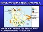 north american energy resources