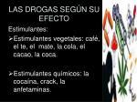las drogas seg n su efecto5