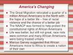 america s changing