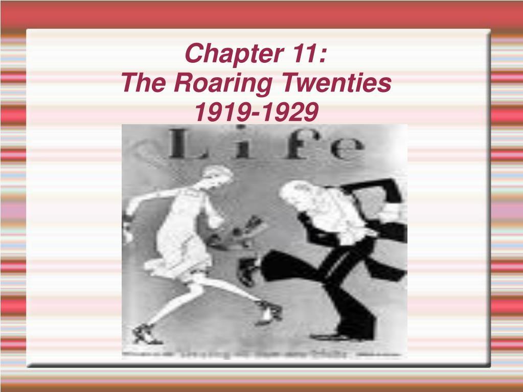 chapter 11 the roaring twenties 1919 1929 l.
