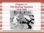 chapter 11 the roaring twenties 1919 1929