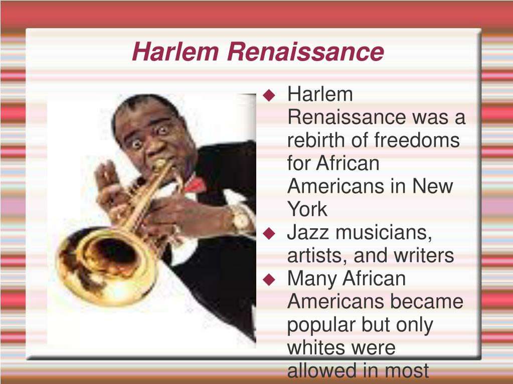 an analysis of the harlem renaissance and the introduction of jazz music