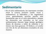 sedimentario