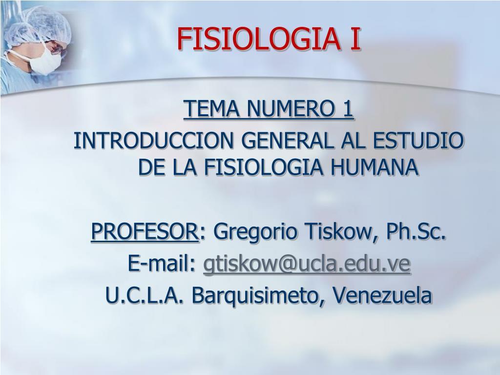 fisiologia i l.