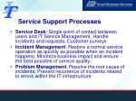 service support processes