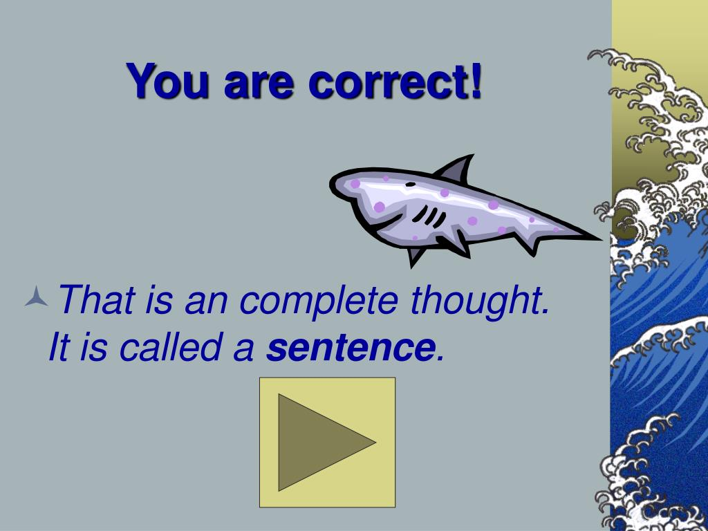 You are correct!