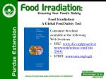 food irradiation a global food safety tool