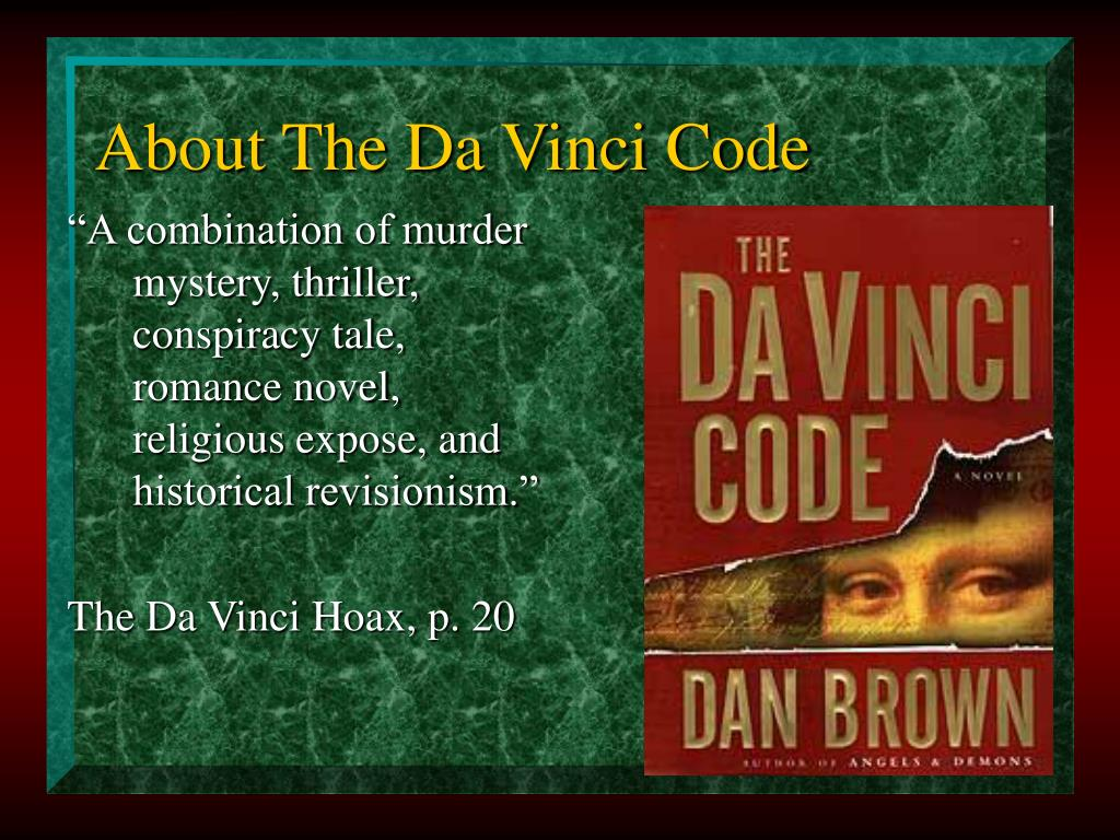About The Da Vinci Code
