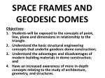 space frames and geodesic domes2