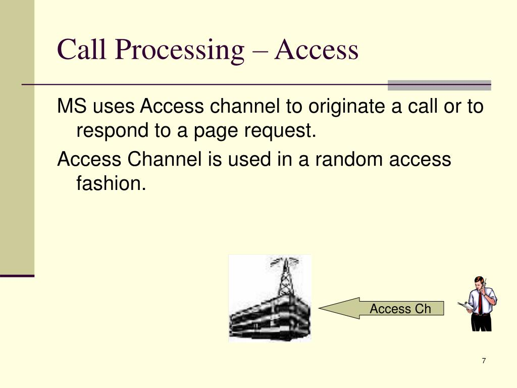 Call Processing – Access
