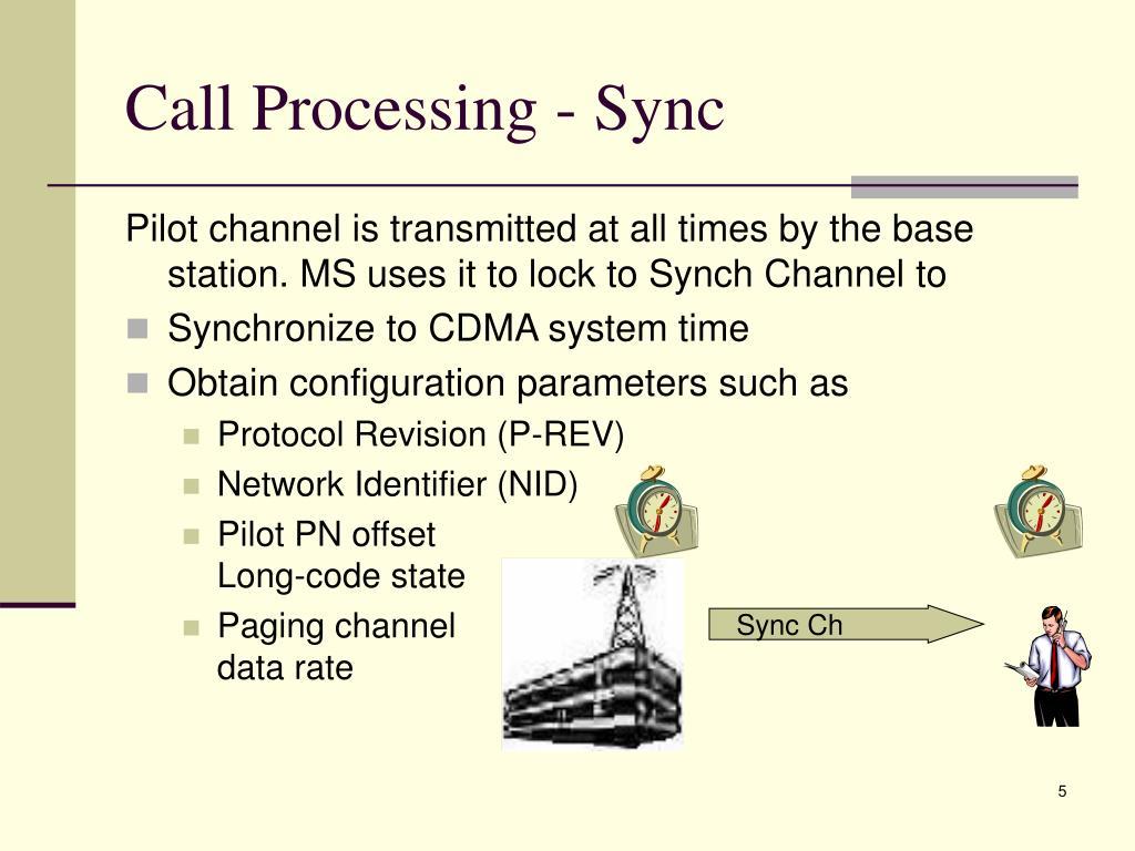 Call Processing - Sync