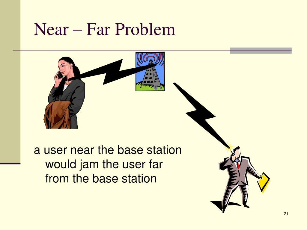 Near – Far Problem