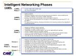 intelligent networking phases camel