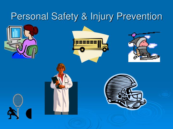 personal safety injury prevention n.