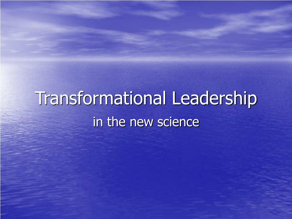 transformational leadership l.