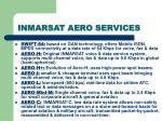 inmarsat aero services