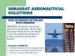 inmarsat aeronautical solutions