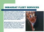 inmarsat fleet services