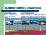 marine communications