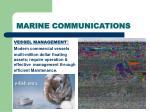 marine communications33