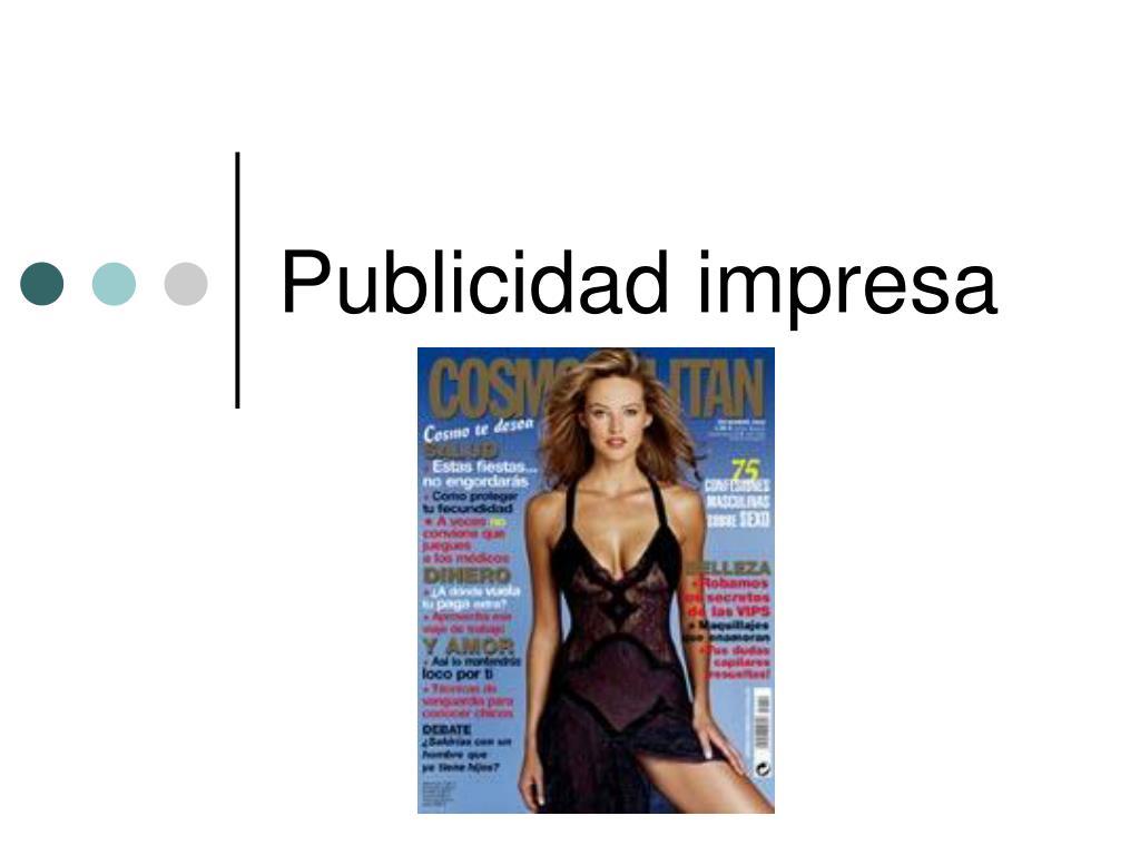 publicidad impresa l.